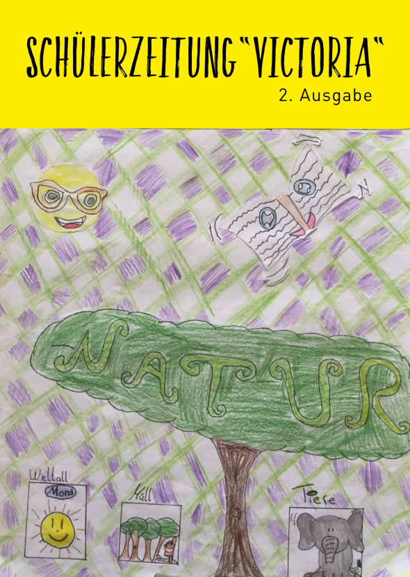 Schülerzeitung Titelseite